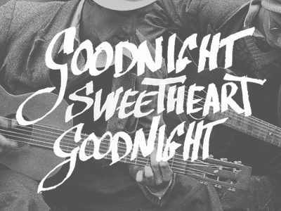 Goodnight Sweetheart By Nano Torres Dribbble Dribbble