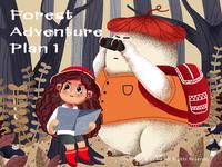 Forest  Adventure  Plan 1