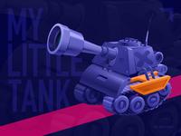 my little tank illustration tank
