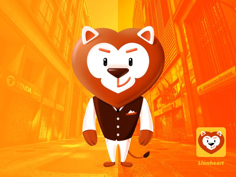 Lionheart cartoon character cartoon illustration
