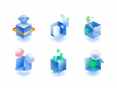 Cube II cube illustration
