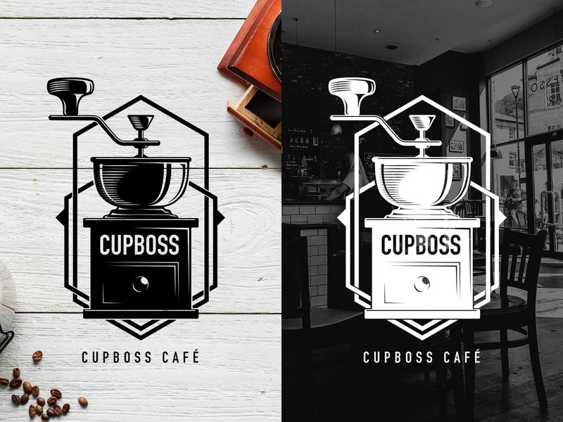 Coffee shop logo coffee café icon logo