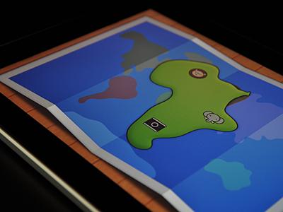 World Around maps kids ui ipad ios