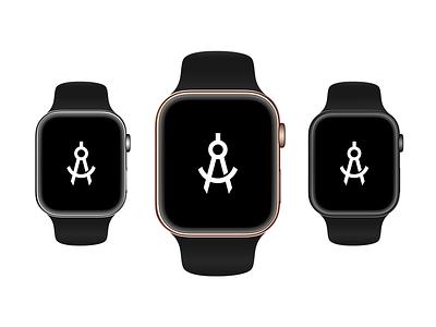 Watch Series 4 mockup photoshop sketch psd apple watch watchos apply pixels