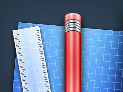 Pencil blueprint mac icon os x