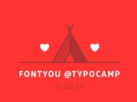 FONTYOU was @typocamp
