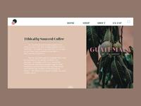 Coffee: Item Description