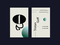 Personal Business Card: Scrapped Project