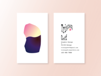 Personal Business Card: Scrapped Project 2