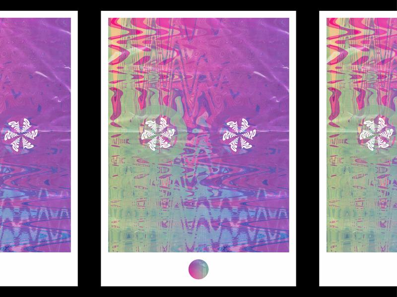 warp speed poster art texture illustration graphic  design typography design minimal