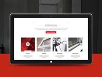 Mode - A Responsive Construction Service Site
