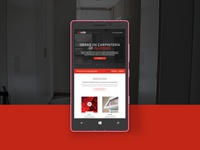 Mode - A Mobile Construction Service Website