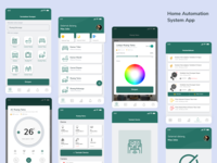 Home Automation System - App