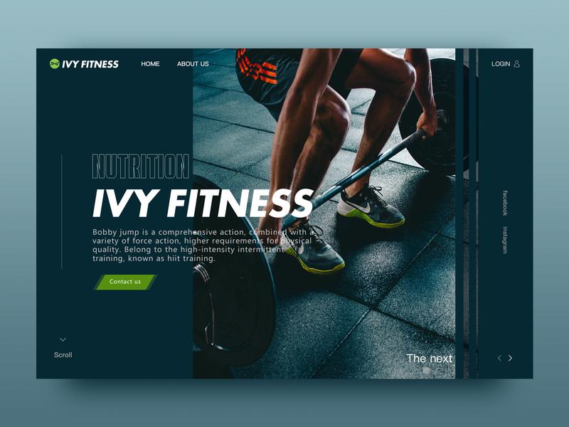 DailyUI 003 — Landing Page typography design ui logo webdesign design