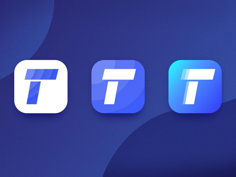 DailyUI 005 — App Icon colorful vector gradient color branding design