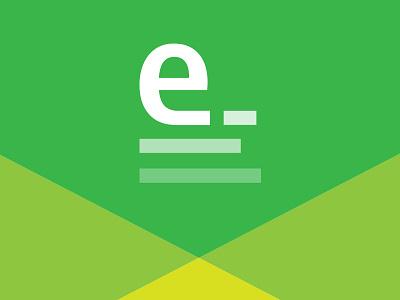 E-Writing Logo green logo writing