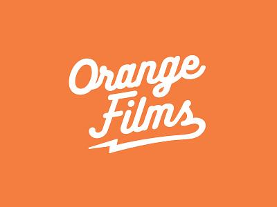 Orange Films Logo branding film logo logo films orange