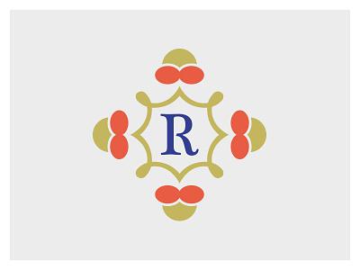 R Badge r logo r logo badge