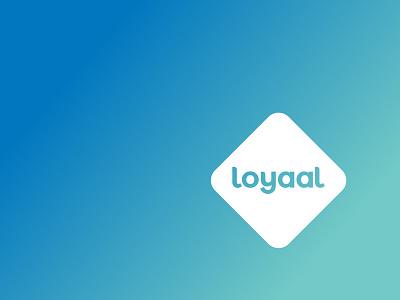 Loyaal Logo minimalistic logo logo loyal