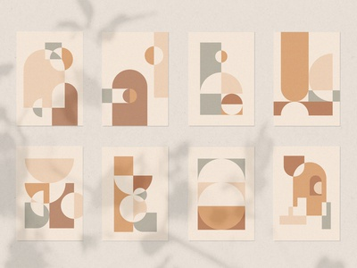 Shop Geometric Shapes Collection pattern art prints posters layout geometric abstract shapes graphic design geoemtric design geometric shapes abstract art illustration vector simplicity design