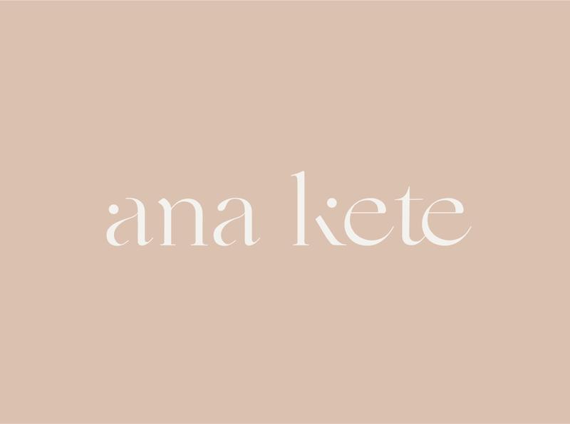 Ana kete branding - by galerie design studio