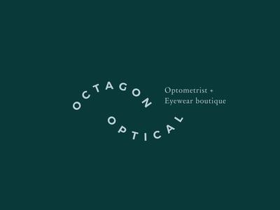 Octagon Optical Logo Design