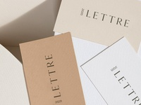 Une Lettre Business Cards
