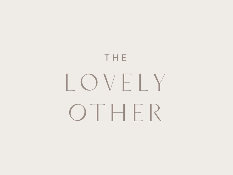 The Lovely Other Branding By Galerie Design Studio On Dribbble