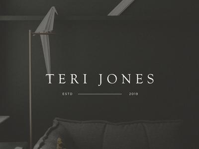 Teri Jones Logo Design