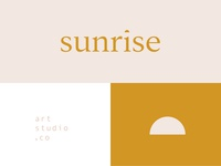 Sunrise Art Studio Branding