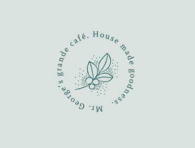 Grande café branding