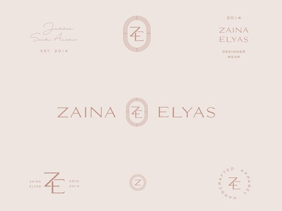 zaina elyas logo marks z logo z icon apparel fashion brand logo design logotype icons symbols secondary logos marks logomarks