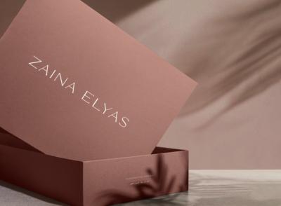 zaina elyas packaging design