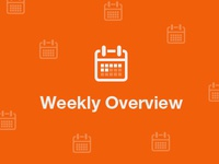 Weekly overview icon