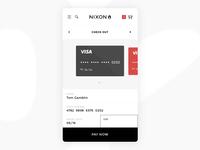 002 Daily UI - Nixon Checkout