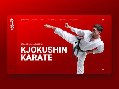 Karate Club hungarian landing ui karate