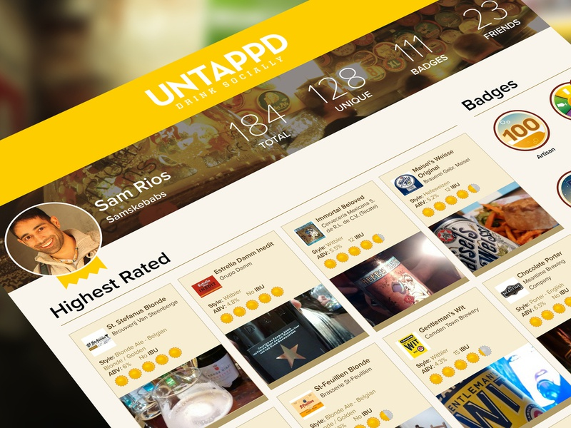 Untappd poster