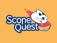 Scone Quest logo design