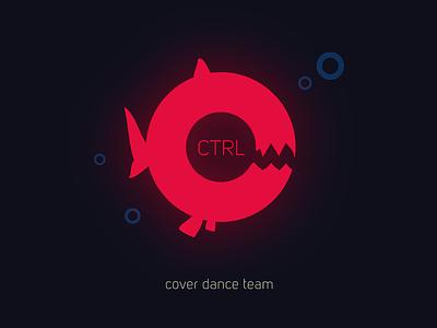 CTRL+C kpop fish dance logo
