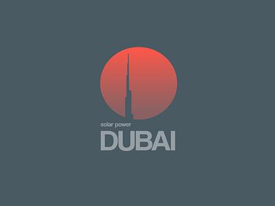 Dubai SP elecricity energetics energy sunset logo sun dubai