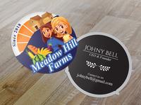 Meadow Hill Farms Businesscard