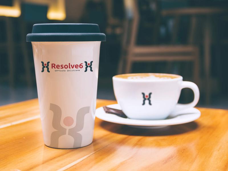 Resolve6 creative logodesigner illustration brand photoshop logodesign graphics logo
