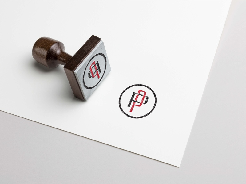 Stamp designing for P&P company ceative branding stamps stampready grapgicsdesign graphics logodesign logo