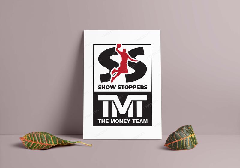 Show Stoppers illustraion graphicsdesign logodesign bussiness vector creative advertisement branding posterdesing