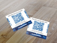 Endeavours  QR code scan cards