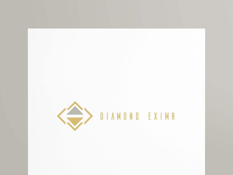 DIAMOND EXIMR creative design brandidentity graphics designer logo design graphicsdesign logo