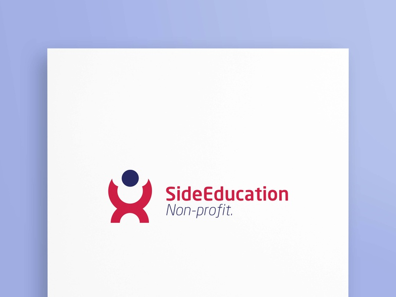 SideEducation stationary logodesing creative vectore marketing bussiness logo design branding graphicsdesign logo-design