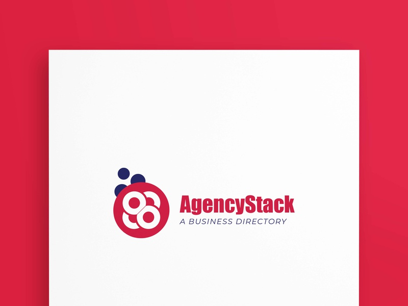 AgencyStack creative vector branding design illustrator graphicsdesign logotype bussiness branding logodesign