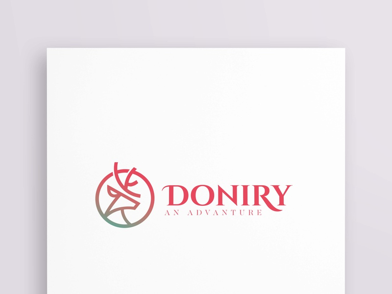 DONIRY creative vectore logotype branding illustratore graphicsdesign logodesign