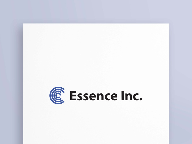 Essence Inc design graphicsdesign illustratore branding logos marketing bussiness logodesign logotype